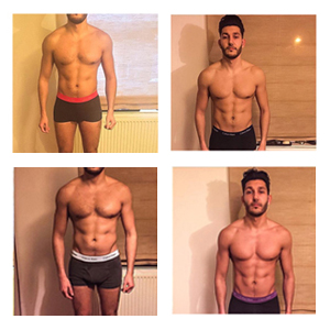 Client Andreas getting some real results ready for his wedding day!