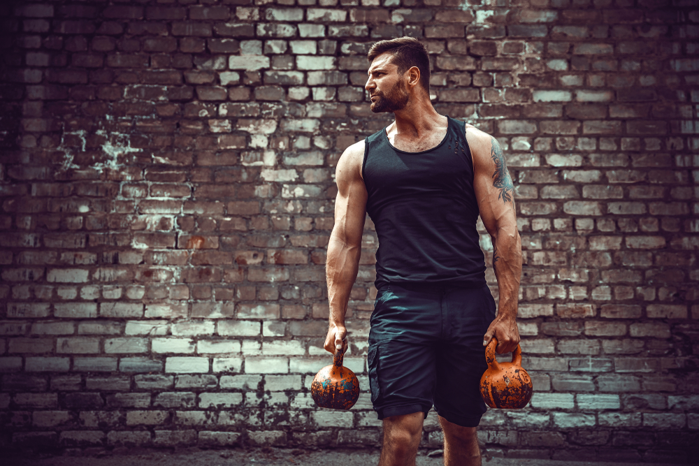 Build your biceps using kettlebells The Fitness Maverick